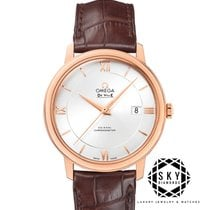 Omega new Automatic Chronometer 39.5mm Rose gold Sapphire crystal