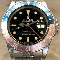 Rolex 1675 Steel 1960 GMT-Master 40mm pre-owned