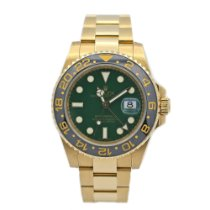 Rolex 116718LN Yellow gold 2007 GMT-Master II 40mm pre-owned United States of America, New York, New York