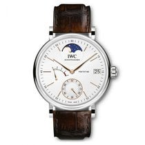 IWC Portofino Hand-Wound Steel 45mm Silver No numerals United States of America, Iowa, Des Moines