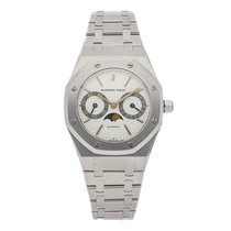 Audemars Piguet Royal Oak Day-Date Steel 36mm Silver No numerals