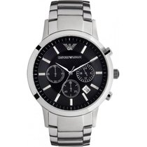 Armani Steel 43mm Quartz AR2434 new
