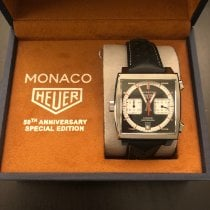 TAG Heuer Monaco Steel 39mm Black United Kingdom, Horley
