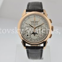 Patek Philippe Perpetual Calendar Chronograph Rose gold 41mm Silver No numerals United States of America, California, Beverly Hills