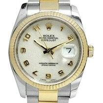 Rolex Datejust 36mm Blanc Arabes