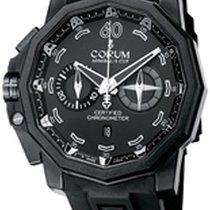 Corum Admiral's Cup Seafender 50 Chrono LHS Titanium 50mm Black No numerals