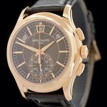 Patek Philippe Annual Calendar Chronograph Oro rosado 42mm Marrón Sin cifras