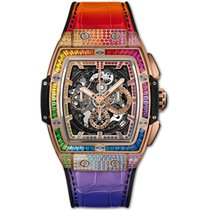 Hublot Spirit of Big Bang Roséguld 42mm Transparent Inga siffror