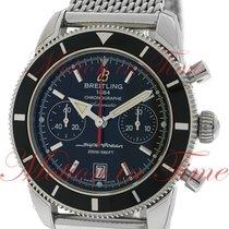 Breitling Superocean Heritage Chronograph 44mm, Black Dial,...