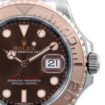 Rolex 40mm Rose Gold & Steel Yacht-Master Chocolate 116621...