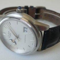 Glashütte Original Platinum Automatic Silver 39mm pre-owned Senator