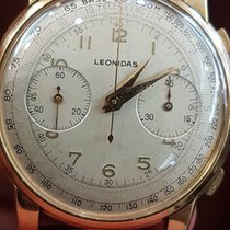 Leonidas Ultra Rare Vintage Leonidas Oro 18 kt Valjoux22 39mm