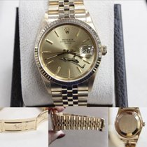 Rolex Date 15238 Oyster Perpetual 18k Yellow Gold
