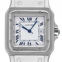 Cartier Santos GM großes Modell Stahl Automatik Armband Stahl...