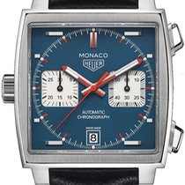 TAG Heuer Monaco Calibre 11 Steel 39mm Blue United States of America, New York, Brooklyn