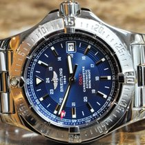 Breitling Colt Automatic Blue Dial with Papers