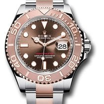 Rolex Yacht-Master Rose Gold Chocolate Dial model 116621
