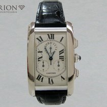 Cartier Tank Américaine Chronoflex White Gold