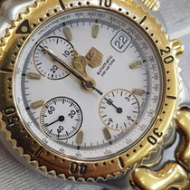 TAG Heuer Rare Steel/Gold 43mm Automatic Top Condition 20 ATM...