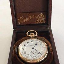 Hamilton 950 Pendant Set 14K Pocket Watch