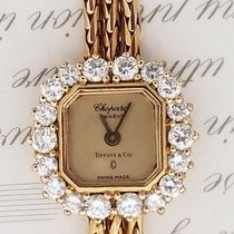 Chopard Retailed By Tiffany & Co. Vintage Diamond 1.32ct 18K Gold
