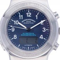 Mühle Glashütte A.T.P.-One Altimeter Stahl Automatik Armband...