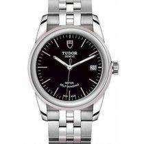 Tudor Glamour Date Steel 36mm Black No numerals
