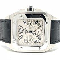 Cartier Santos 100 XL Chronograph 3 Subdials 41MM W20090X8