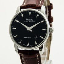 Mido Steel 38mm Automatic M8600.4.18.8 new