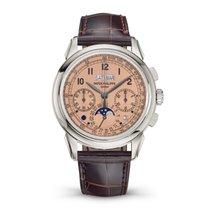 Patek Philippe Platin Elle kurmalı 41mm yeni Perpetual Calendar Chronograph