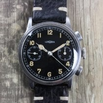 Lemania Chronograph 37mm Manual winding 1950 pre-owned