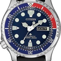 Citizen Steel Automatic NY0086-16LE new
