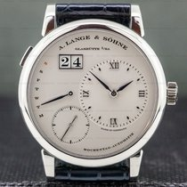 A. Lange & Söhne Lange 1 Platinum 39.5mm Silver Roman numerals United States of America, Massachusetts, Boston