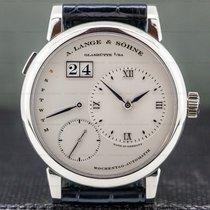 A. Lange & Söhne Lange 1 Platinum 39.5mm Silver Roman numerals