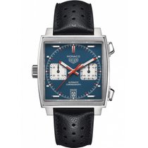 TAG Heuer Monaco Calibre 11 Acier 39mm Bleu France, Paris