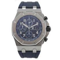 Audemars Piguet 26470ST.OO.A028CR.01 Staal 2018 Royal Oak Offshore Chronograph 42mm tweedehands