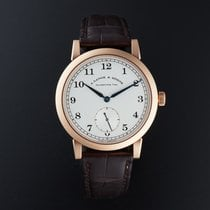 A. Lange & Söhne Red gold Manual winding Silver Arabic numerals 40mm pre-owned 1815