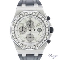Audemars Piguet pre-owned Automatic 42mm White Sapphire Glass 10 ATM