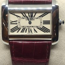 Cartier Tank Divan Steel 38mm Silver Roman numerals United States of America, California, SAN DIEGO