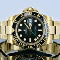 Rolex 116718 Yellow gold 2008 GMT-Master II 40mm pre-owned United States of America, Michigan, Southfield