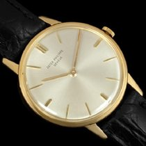 Patek Philippe Vintage Yellow gold 33mm Silver