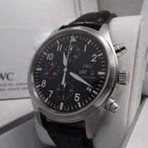 IWC Pilot Chronograph Acero 42mm Negro Árabes España, Barcelona