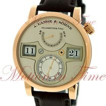 A. Lange & Söhne 140.032 Rose gold Zeitwerk 41.9mm pre-owned United States of America, New York, New York