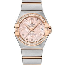 Omega 12325272057004 Constellation Co-axial Ladies Watch
