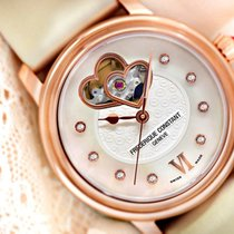 Frederique Constant Ladies Automatic World Heart Federation nieuw 34mm Goud/Staal
