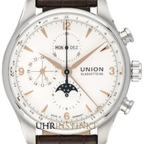 Union Glashütte Stål 44,00mm Automatisk D009.425.16.017.01 ny