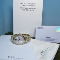 IWC Da Vinci Chronograph Mondphase in 18kt. Gold, Service...