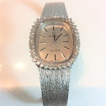 Omega De Ville Diamonds 18 k white Gold Ladies