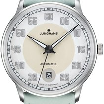 Junghans Meister Driver 027/4717.00 JUNGHANS MEISTER DRIVER AUTOMATIC verde new