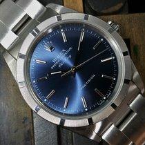 Rolex Air King Precision Blue Dial